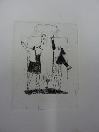 Rainmakers  Copperplate Etching  7 x 9  £75 + p&p